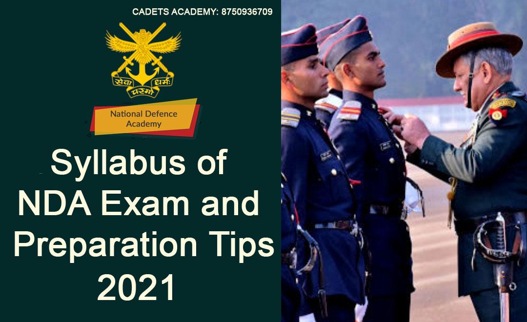 Syllabus of NDA Exam and Preparation Tips